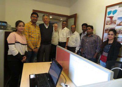 Dr. Vijay Kelkar with Structial Team