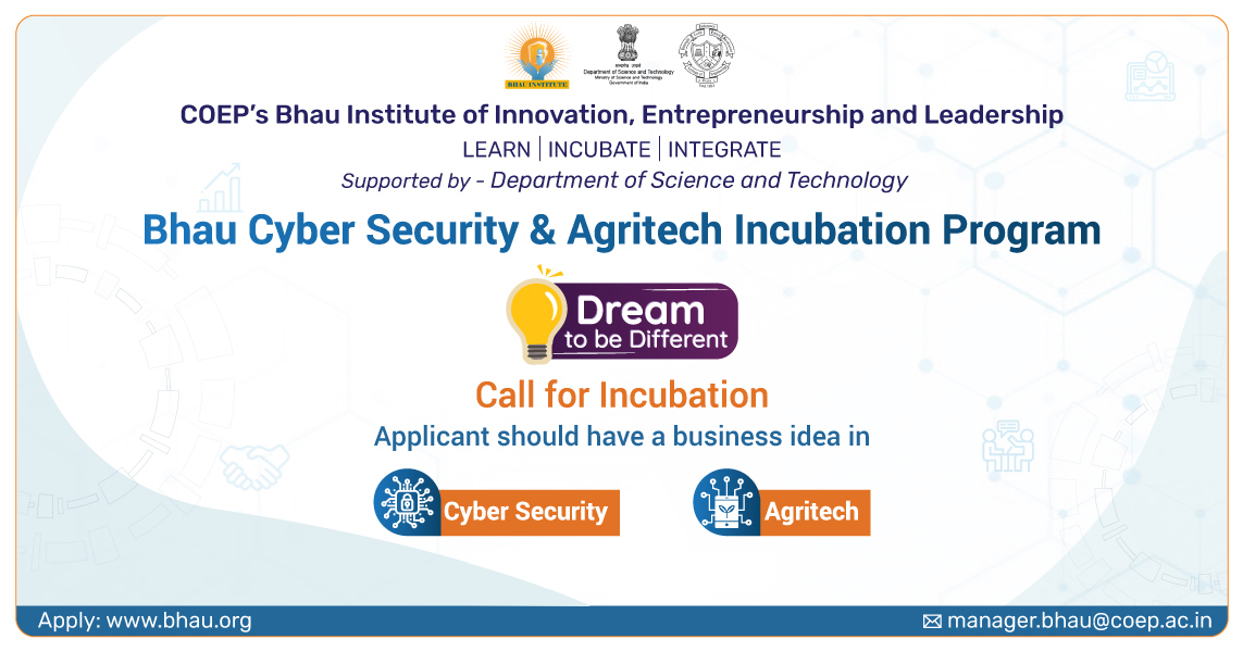 Agritech Incubation banner